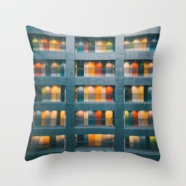 Doors of Perception Throw Pillow