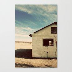 Desert House - Color Canvas Print