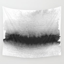 Black and White Horizon Wall Tapestry