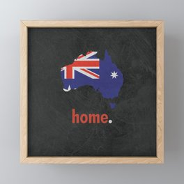 Australia Proud Framed Mini Art Print