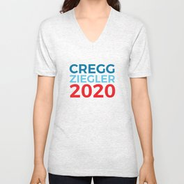 CJ Cregg Toby Ziegler 2020 / The West Wing Unisex V-Neck