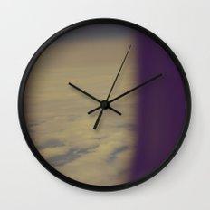 No Regrets (Vintage Color) Wall Clock