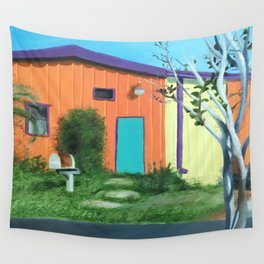 Railroad Square Wall Tapestry