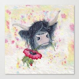 Missing MacKenzie McMoo by Fiona Bárcenas Canvas Print