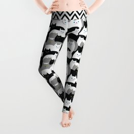 Kitty Cat Family Leggings