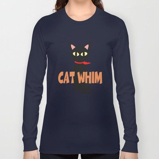 Blue Whim Long Sleeve T-shirt