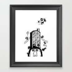 Imagination meets Reality Framed Art Print