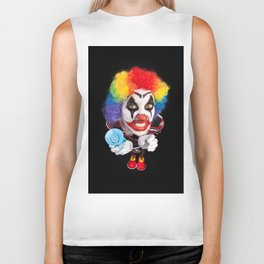 Crazy Clown Biker Tank