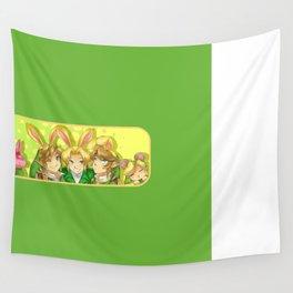 Legend of Zelda: Bunny hoods Wall Tapestry