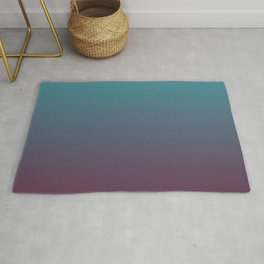 two-colour linear colour gradient Rug