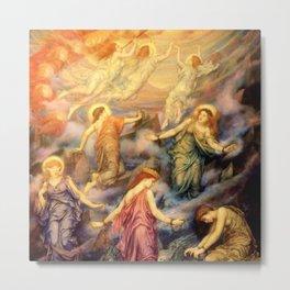 """Evelyn De Morgan """"Kingdom of Heaven"""" Metal Print"""