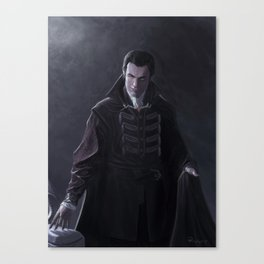 Vampire of the Mists Canvas Print