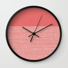 Riverside - Cayenne Wall Clock