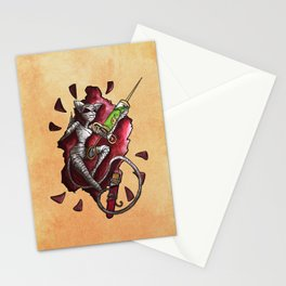 Assasin, Second Class in Pie Stationery Cards