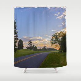 Sunrise Ahead Shower Curtain