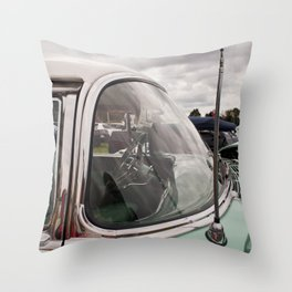 Vintage Car 3 Throw Pillow