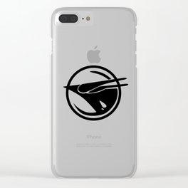 Rebel phoenix Clear iPhone Case