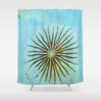 transparent Shower Curtains featuring Transparent-Sea by Bella Blue Photography