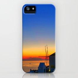 Santorini 17 iPhone Case