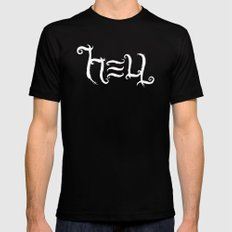 Raise HELL (Black) Mens Fitted Tee Black MEDIUM