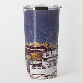 Tibet: Potala palace in Lhasa Travel Mug