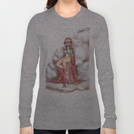 Goddess of the Clouds Long Sleeve T-shirt