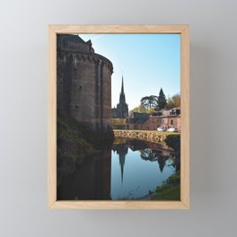Morning pause Framed Mini Art Print