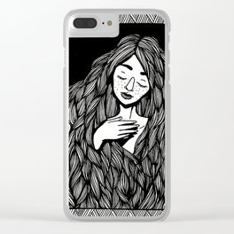 rapunzel Clear iPhone Case