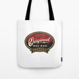 Clutchhotrods oval Tote Bag