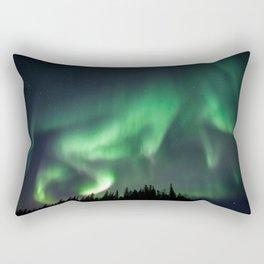 Manitoba Northern lights Rectangular Pillow