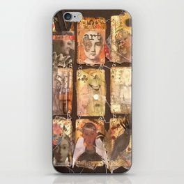 playing your cards iPhone Skin