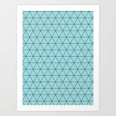 Netted. Art Print