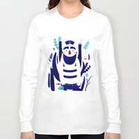 nemo Long Sleeve T-shirts featuring Captain Nemo by Fabiola Correas