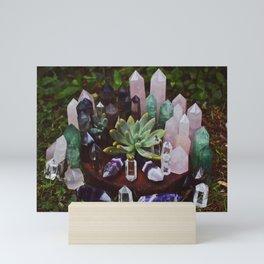 Crystal Family Portrait Mini Art Print