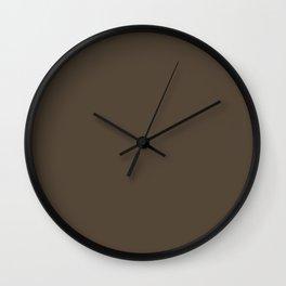 420. Kuri-iro (Black Cray of Riverbed-Color) Wall Clock