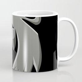 Bobcat Head Metallic Icon Coffee Mug