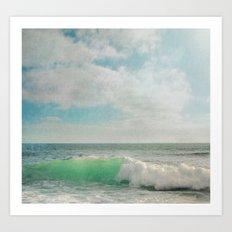 The Painted Sea Art Print