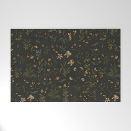 Old World Florals Welcome Mat
