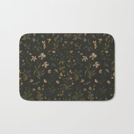 Old World Florals Bath Mat