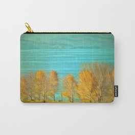 Ohrid Lake blue Carry-All Pouch