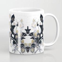 Gold Dandelions Coffee Mug