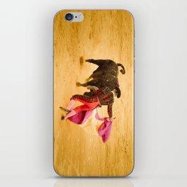 Corrida portugaise torero iPhone Skin
