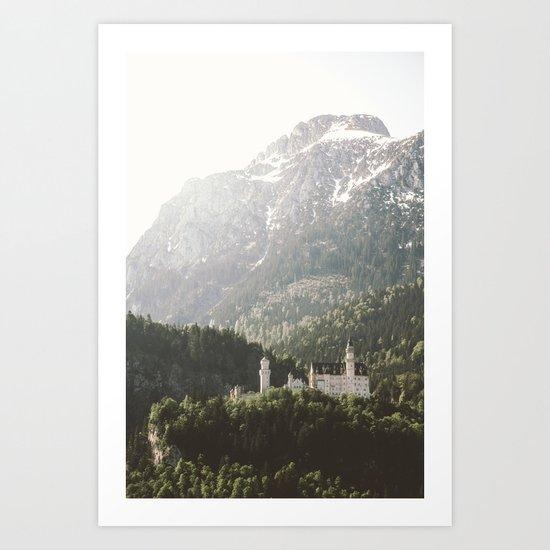 Neuschwanstein Fairytales - Landscape Photography Art Print