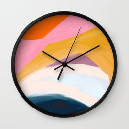 Let Go - no.36 Shapes and Layers Wall Clock
