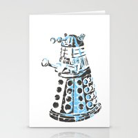 dalek Stationery Cards featuring Dalek Graffiti by spacemonkey89