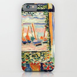 Henri Matisse The Open Window iPhone Case