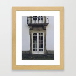 Casa do Passadiço Framed Art Print