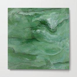 Jade - Original Art (encaustic painting) Metal Print