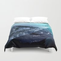 window Duvet Covers featuring Window by DM Davis