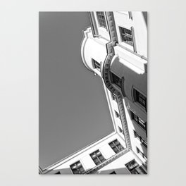 Vintage townhouse Canvas Print